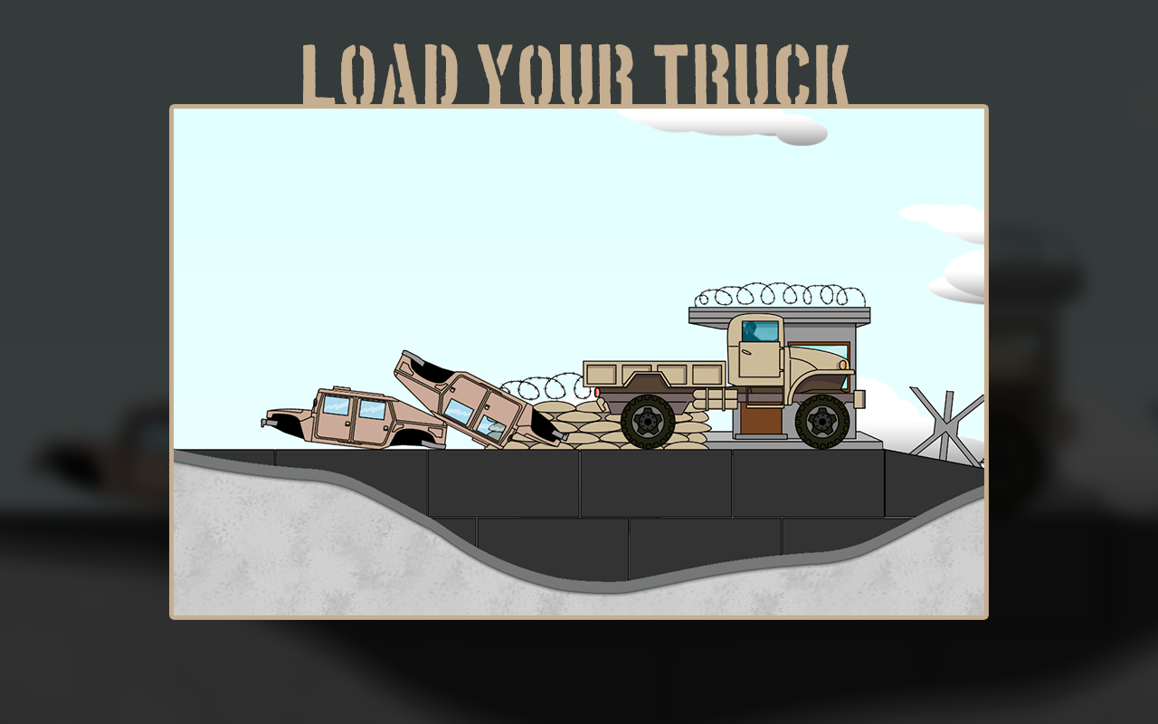 Army transporter screen